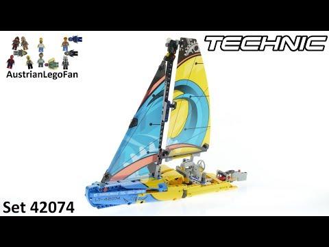 Vidéo LEGO Technic 42074 : Le yacht de compétition