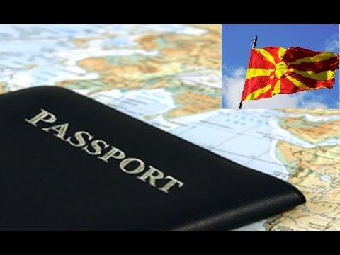 Виза в Македонию