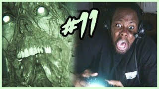 THERE'S A MONSTER IN THE SCHOOL! - Outlast 2 Gameplay Walkthrough Part 11