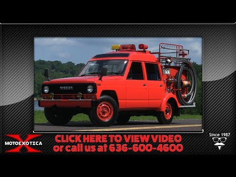 Video of '86 Safari Fire Truck - NH0M