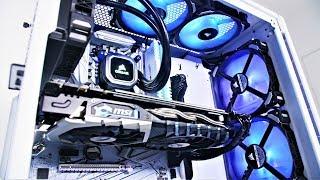 Project Arctic IEM - $2400 GAMING PC BUILD TIME LAPSE 2018
