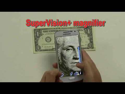 Screenshot of video: Supervision Magnifier -Android