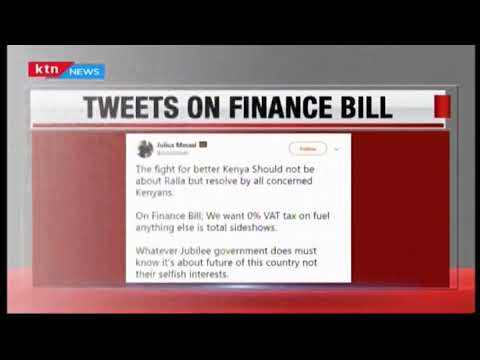 Kenyans voice displeasure with MPs who support Uhuru's proposal on tax on fuel products
