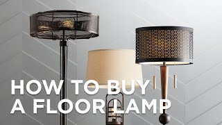 Floor Lamp Buying Guide