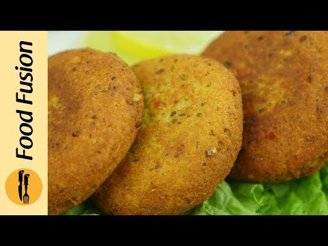 Chicken Shami Kabab Recipe By Food Fusion