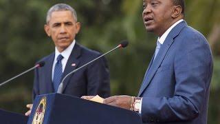 Obama Vs Kenyan President On Gay Rights