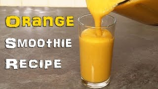 Can you Guess whats in this Orange smoothie? - Video Youtube