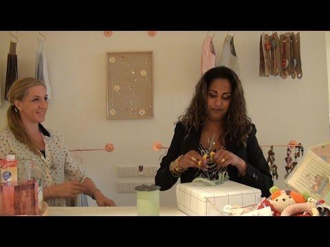 GPTV: Anni Friesinger-Postma opent winkel in Sneek