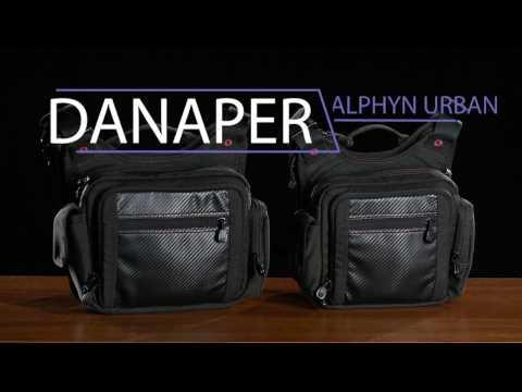 Сумка Danaper Alphyn Urban S, Black для скрытого ношения оружия, чёрная
