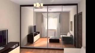 Дизайн встроенных шкафов купе фото