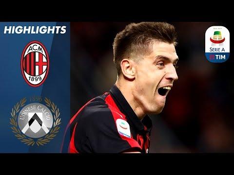 Milan 1-1 Udinese | Piatek Scores 1st but Lasagna Equalises! | Serie A