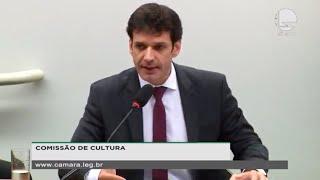 Cultura - Ministro do Turismo explica transferência da Secretaria de Cultura para sua pasta - None