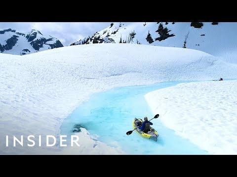 Visiting a Glacier by Helicopter