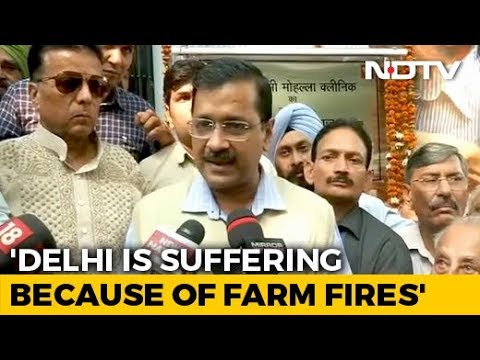 """""""Will Extend Odd-Even If Needed"""": Arvind Kejriwal As Air Quality Dips"""