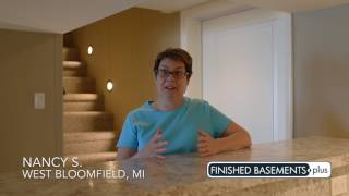 Nancy S. Finished Basement Video Testimonial | West Bloomfield, MI