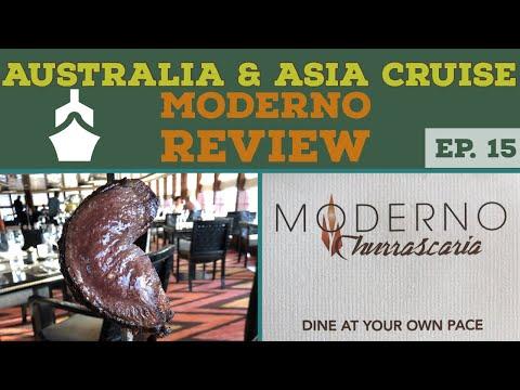 NCL's Moderno Churrascaria Brazilian Restaurant Review l Cruise Vlog l Ep. 15