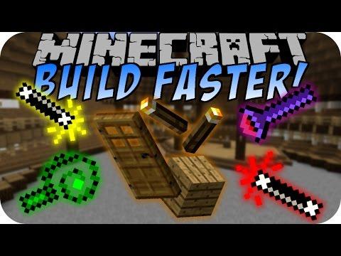 Minecraft BUILD FASTER MOD [Deutsch]