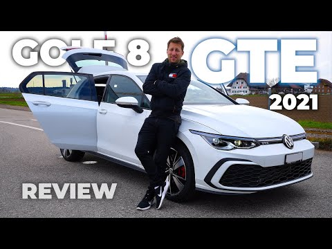 New Volkswagen Golf 8 GTE 2021 Review Interior Exterior