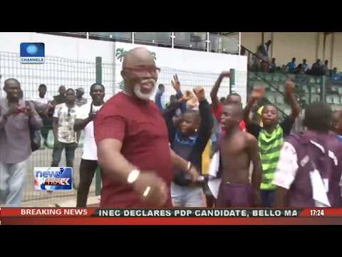 Pinnick Commends Channels Int'l Kids Cup Organisers Sustenance