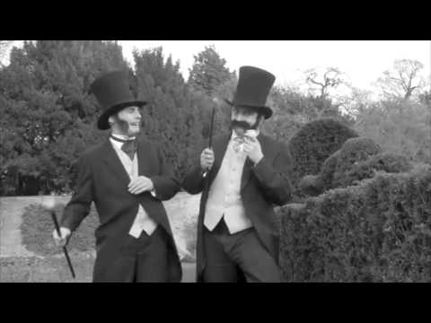 Stilt Walking Characters Video