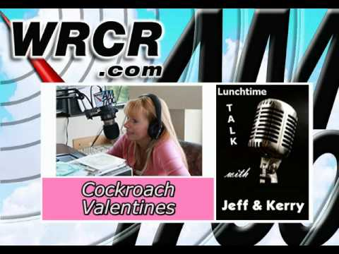Lunchtime Talk w/ Jeff & Kerry-Cockroach Valentines