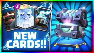 OPENING ALL NEW CHESTS! Legendary Kings Chest, Fortune Chest, Lightning Chest Opening - Clash Royale