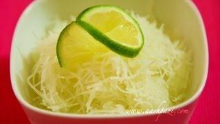 Faloodeh (faloodeh shirazi) falooda recipe - YouTube