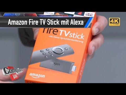 Amazon Fire TV Stick: Alexa kommt ins Fernsehen
