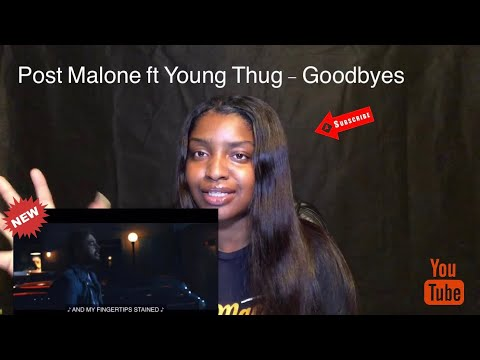 post malone quot goodbyes quot ft young thug rated r
