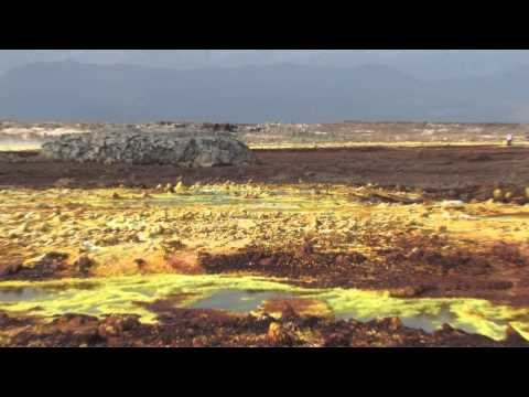 вулкан Даллол(Эфиопия) MPEG 4