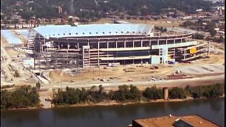 Titans Stadium Construction timelapse