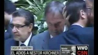 Comenzo El Velatorio De Nestor Kirchner