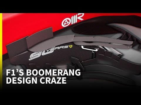Why so many F1 cars now have 'boomerangs'