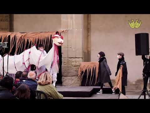 LA LLEGENDA DE LA DRAGONA. Espectacle de Sant Jordi. La Caserna