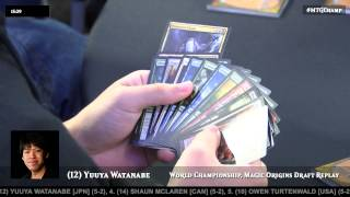 2015 Magic World Championship: Feature Draft with Yuuya Watanabe