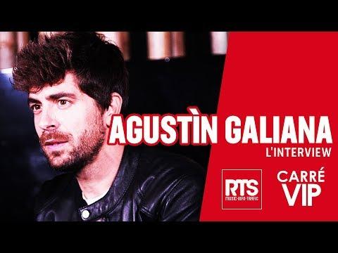 Agustin Galiana en Interview dans Carré VIP