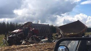 Truck Crash Compilation September