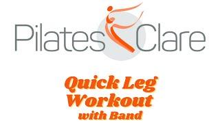 Quick Leg Workout