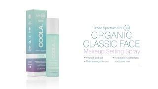 COOLA Beauty SPF 30 Makeup Setting Spray