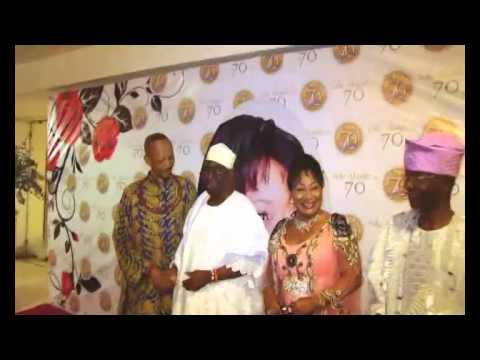 70th Birthday Celebration of CHIEF Mrs  Onikepo Akande OON , CON  Ekerin Iyalode of Ibadan land by D