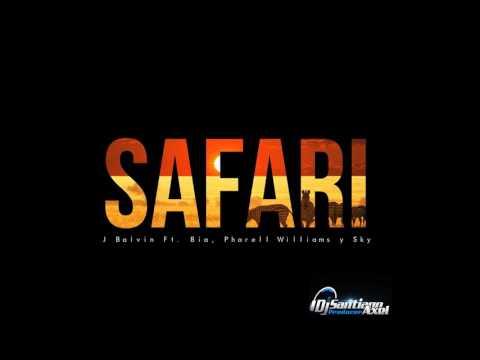 J Balvin - Safari ft. Pharrell Williams, BIA, Sky - Dj Santiago Axel (Version Cumbia)