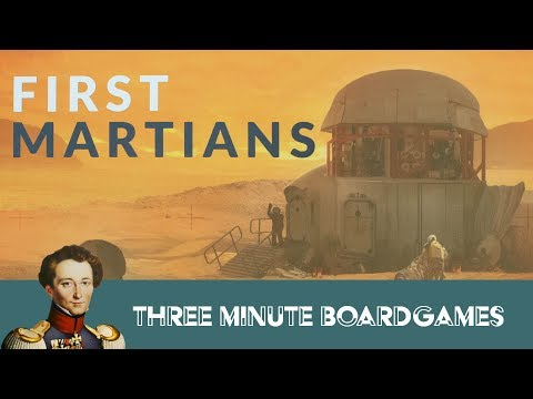 First Martians in about 3 minutes