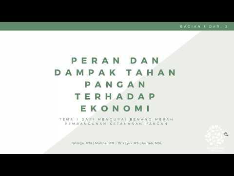 Peran dan Dampak Ketahanan Pangan terhadap Perekonomian