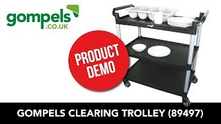 Product Demo - Gompels Clearing Trolley (89497)