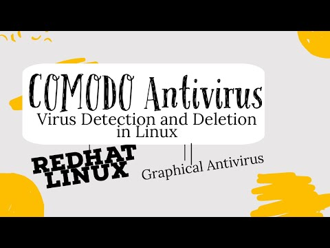 COMODO Antivirus Installation,configuration, virus detection and removal in RedHat Enterprise Linux