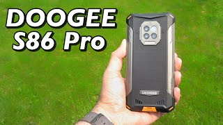 Doogee S86 Pro Rugged Phone Review - 8500mAh, Thermometer