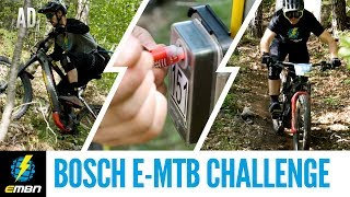 Riding The Bosch E-MTB Challenge At Bike Festival Garda Trentino!