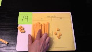 Making Two Digit Numbers With Base Ten Blocks
