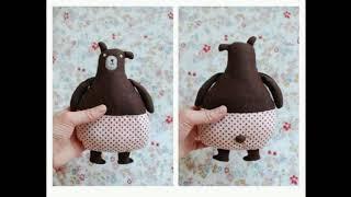 Идеи мягких игрушек из ткани  Рукоделие для детей