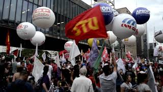 Assista: Manifestação contra Reforma da Previdência